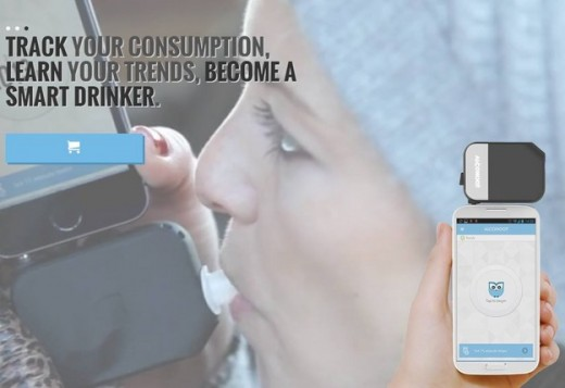 Alcohoot New Smartphone Breathalyzer