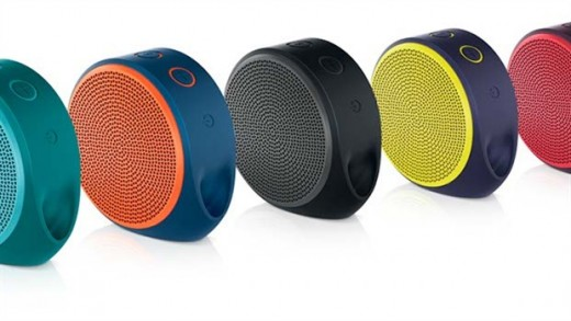 portable speaker logitech x100 review