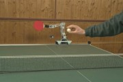 robotic arm tennis gadget