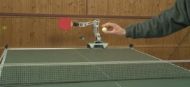 This robot plays table tennis better than you